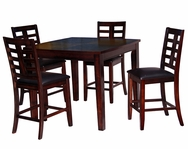 Hoffman Wood 5-Pc Pub Table Set C-67544ES-SET