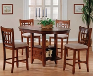 Pub 5-Pc Table Set W-8269-SET