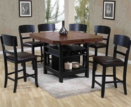 Adjustable 5-Pc Pub Table Set W-8360-SET