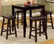 Beatrice 5-Pc Counter Height Dining Set U-F2306-SET
