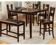 Brooke 6-Pc Counter Height Dining Set U-F2335-SET