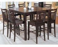 Hannah 5-Pc Counter Height Dining Set U-F2304-SET