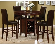 Luis 5-Pc Counter Height Dining Set U-F2316-SET