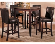 Florence 5-Pc Bar Height Dining Set U-F2124-1246-SET