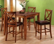 Laredo 5-Pc Counter Height Dining Set W-F168-SET