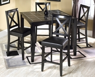 Albany 5-Pc Counter Height Dining Set W-F175-SET