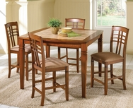 Toscana 5-Pc Counter Height Dining Set W-F206-SET