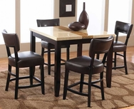 Trinity 5-Pc Counter Height Dining Set W-F238-SET