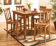 Santa Fe II 5-Pc Counter Height Dining Set W-F293-SET