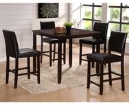 Chloe 5-Pc Counter Height Dining Set GT-D10-SET