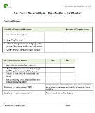 Confined Space - Reclassification Form