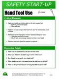 Hand Tool Use - Safety Start-Up