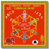 Learning Basic Skills Through Music Red CD