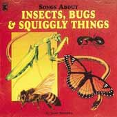 Songs About Insects, Bugs & Squiggly Things CD