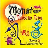 Monster Teaching Time CD