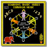 Learning Basic Skills Through Music Black CD