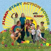 JUMP START ACTION SONGS WITH RONNO CD