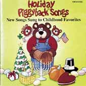Holiday Piggyback Songs CD