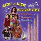 Sing 'N Sign Holidaytime With Gaia CD