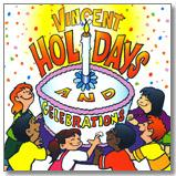 Vincent Holidays and Celebrations CD