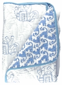 Rikshaw Design Taj Blanket in Pouch