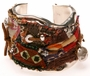 Frankie Slaughter Silver Fabric Cuff