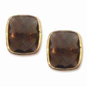 Addison Weeks Whitten Stud - Smokey Quartz