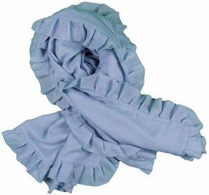 2 Bees Cashmere Wrap - Light Blue