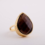 Wimberly Smokey Quartz Statement Ring