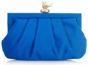 Wilbur & Gussie Margot Clutch - Colbalt
