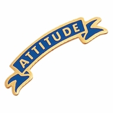 ATTITUDE PIN ENAMELED