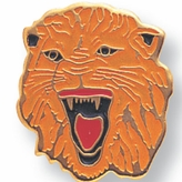 TIGER PIN ENAMELED