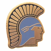 TROJAN PIN ENAMELED