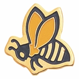 BEE PIN ENAMELED