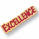 EXCELLENCE PIN ENAMELED