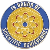 SCIENTIFIC ACHIEVEMENT PIN