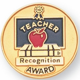 TEACHER RECOGNITION PIN