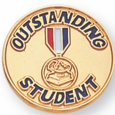 OUTSTANDING STUDENT PIN