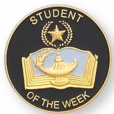 STUDENT OF THE WEEK PIN