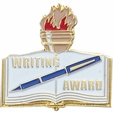WRITING AWARD PIN