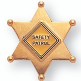 SCHOOL SAFTEY PATROL PIN