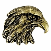 EAGLE MASCOT ANTIQUE BRASS