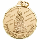 1 1/4 INCH SPELLING BEE AWARD - MULTIPLE COLORS