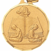 1 1/4 INCH READING MEDAL - MULTIPLE COLORS