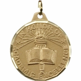 1 1/4 INCH IN HONOR OF ACADEMIC EXCELLENCE MEDAL - MULTIPLE COLORS