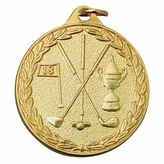 GOLF GENERAL MEDAL - MULTIPLE COLORS
