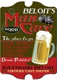 Vintage Personalized Man Cave Sign