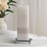 Personalized Empire Unity Candle Set