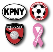 Car Bumper Magnets & Decals