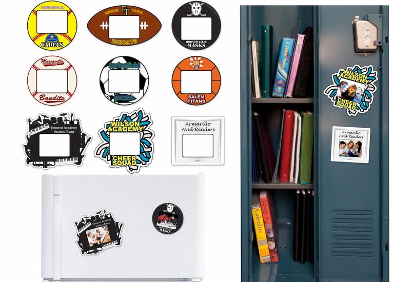 Locker Photo Magnets